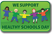 We Support Healthy Schools Day Poster